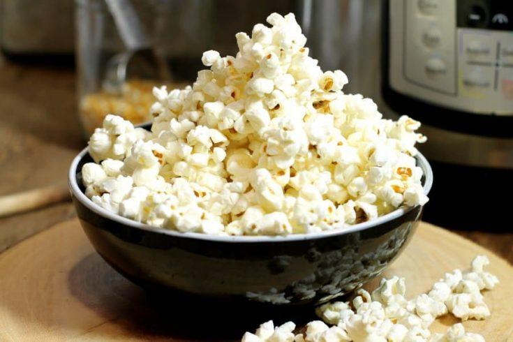 Instant Pot Popcorn + 6 Popular Seasonings