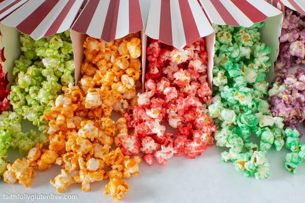 Easy Candied Jello Popcorn