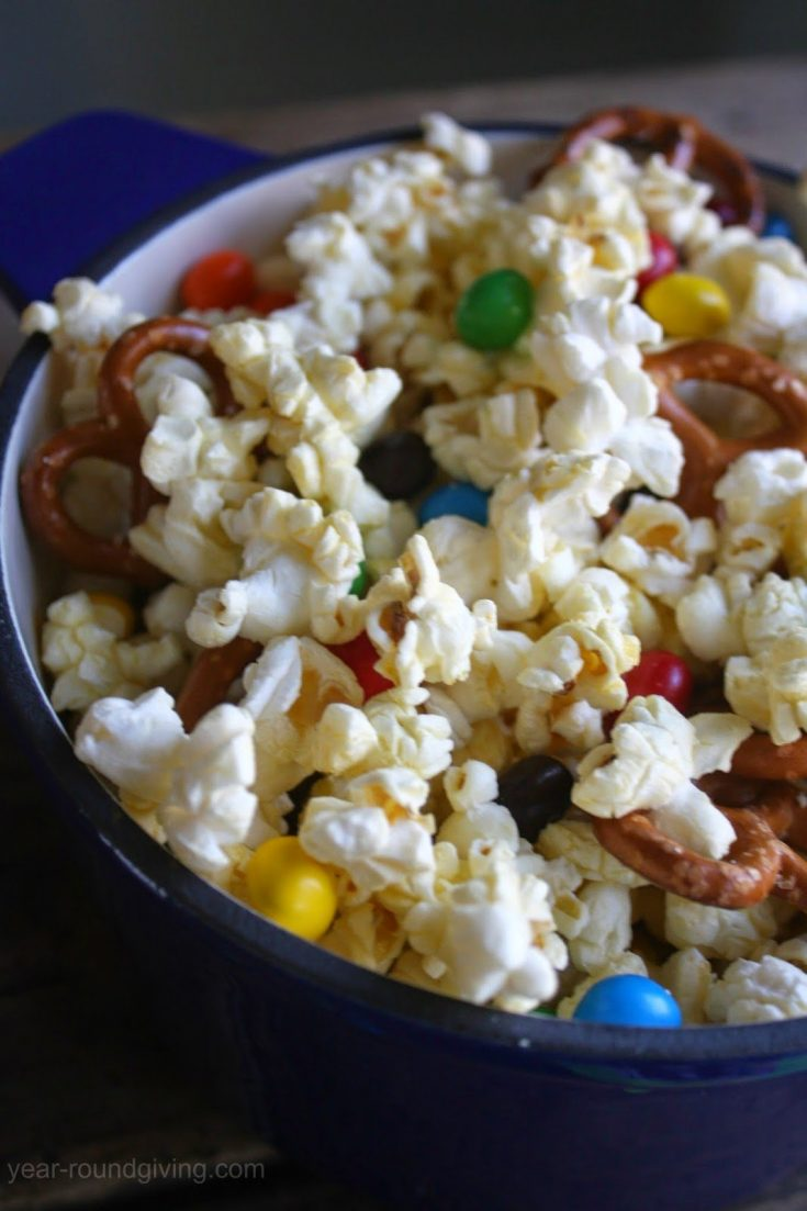 M&M's Popcorn Snack Mix