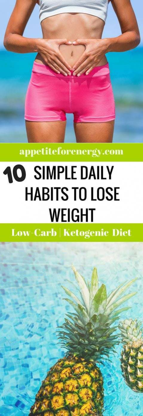 10 Simple Daily Habits To Lose Weight (And Gain Life)