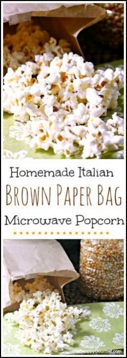 Italian Brown Paper Bag Popcorn Recipe