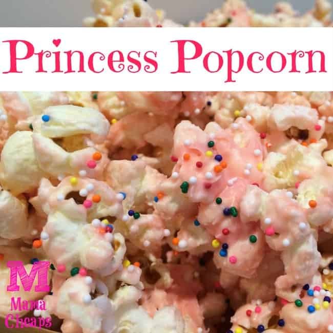 Princess Party Snack: Princess Popcorn