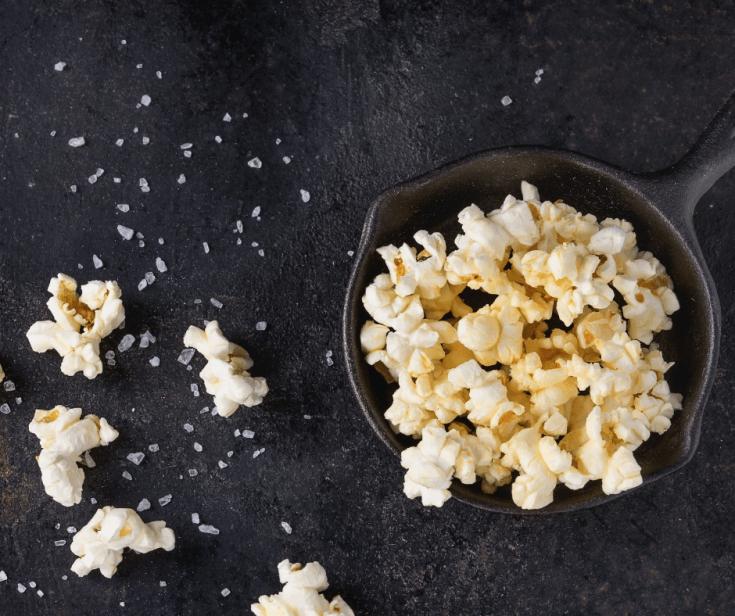 Savory Basil Garlic Popcorn Recipe