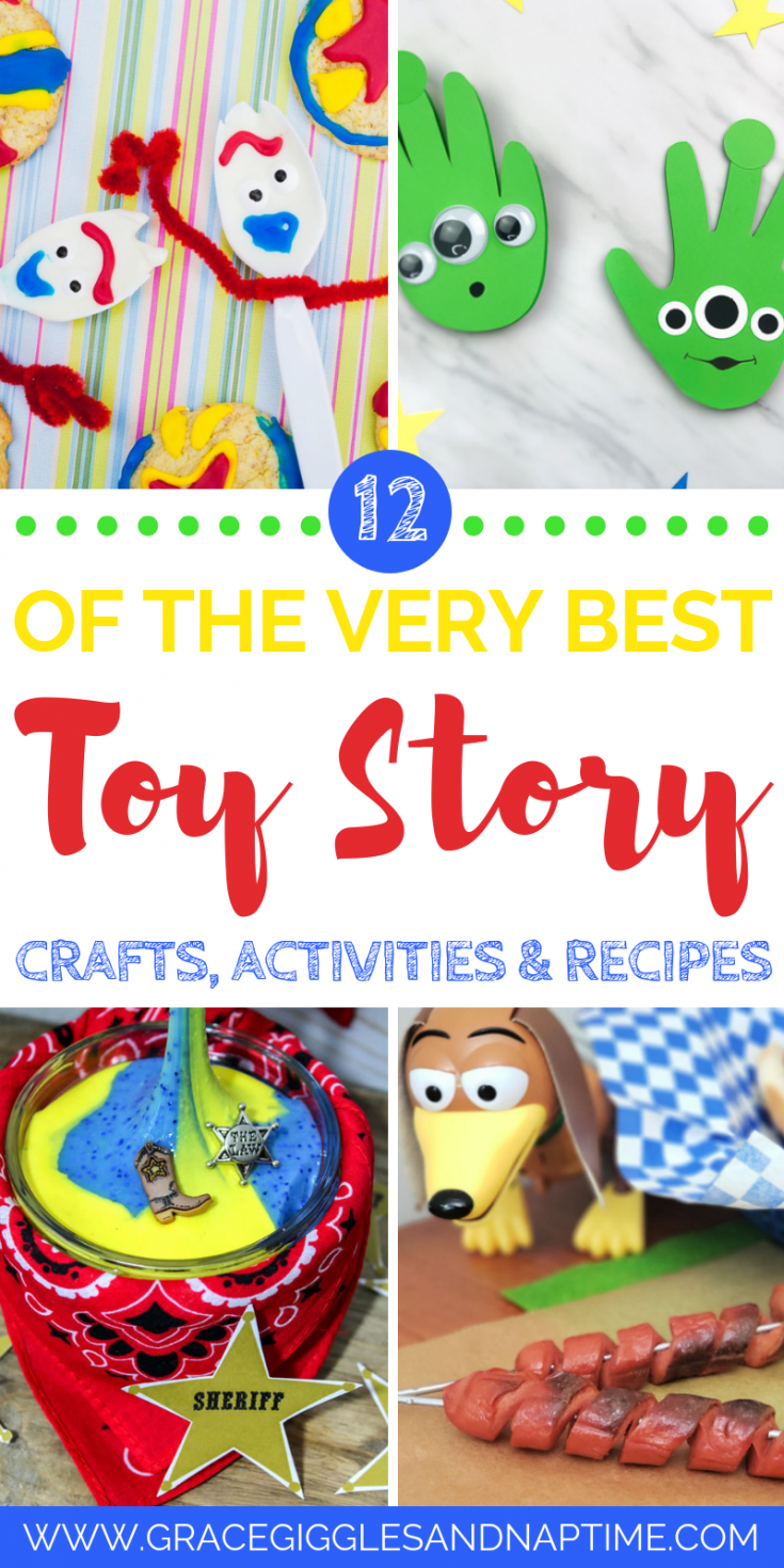 12 Toy Story Crafts, Activities & Recipes