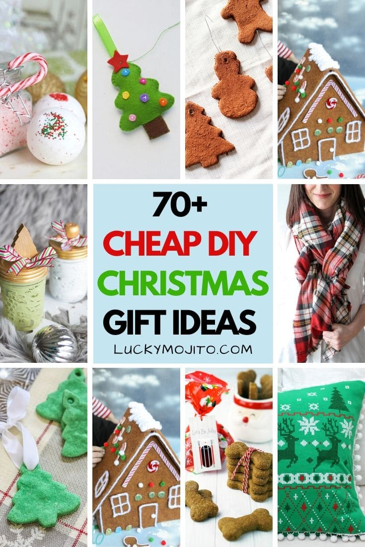 70+ DIY Christmas Gift Ideas That Are Cheap & Easy to Make