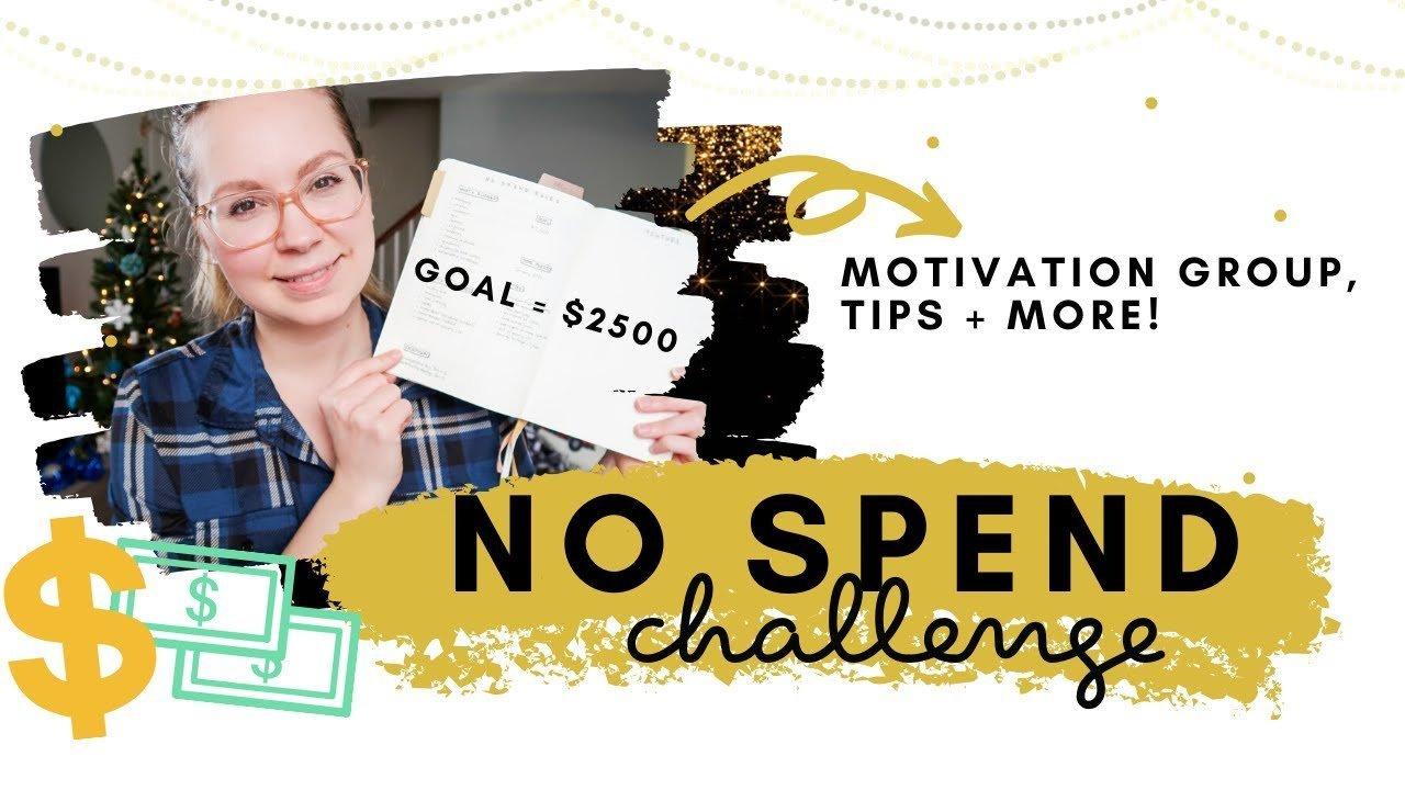No Spend Challenge 2020