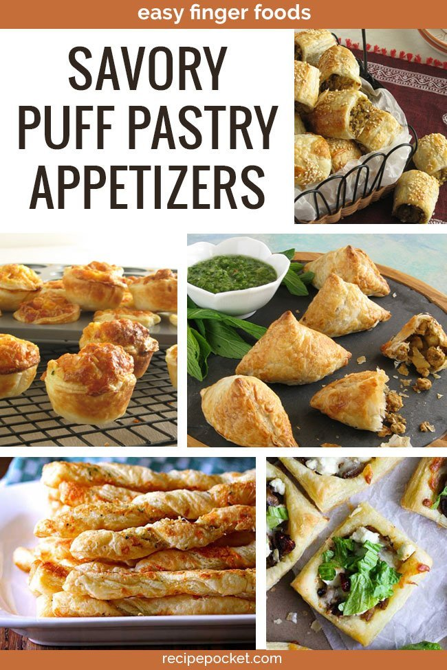 Savoury Puff Pastry Appetizers – Tasty and Easy Recipes
