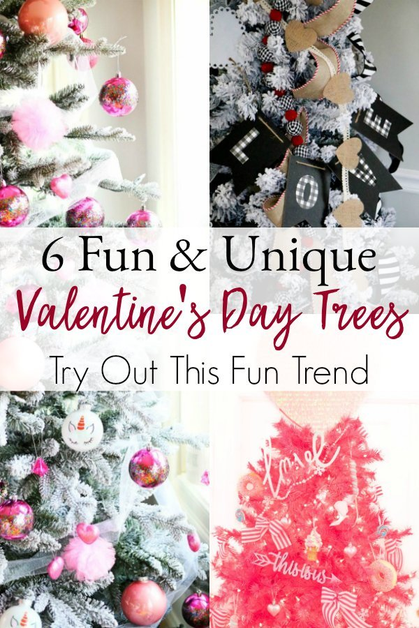 Turn Your Christmas Tree into a Valentine's Day Tree