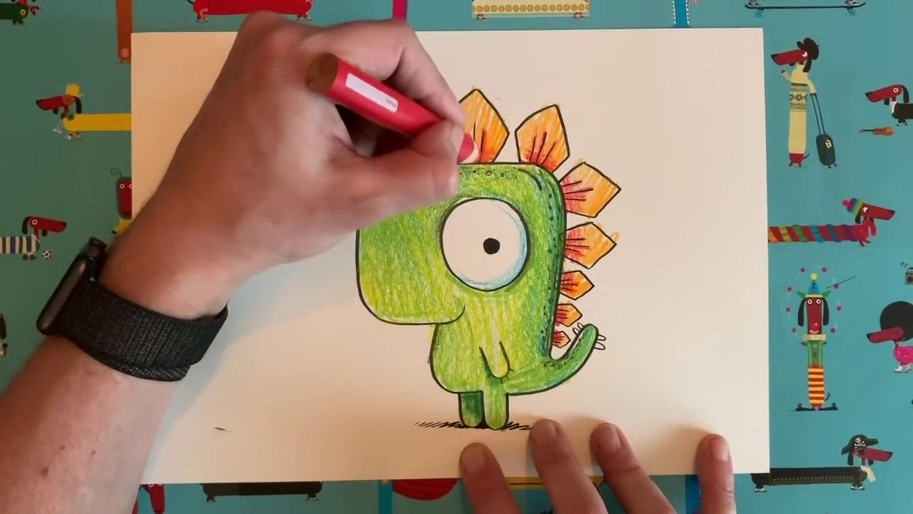 15 Brilliant Draw Along Videos for Adults and Kids