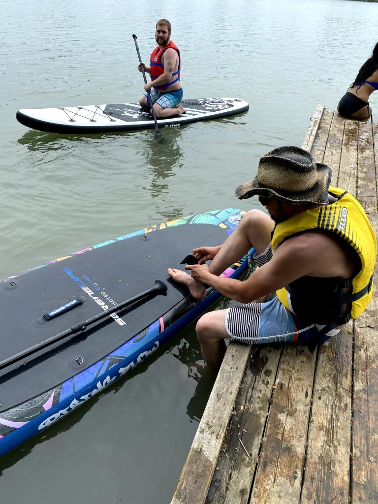 Second Paddle Board