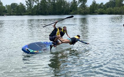Paddle Board Tricks