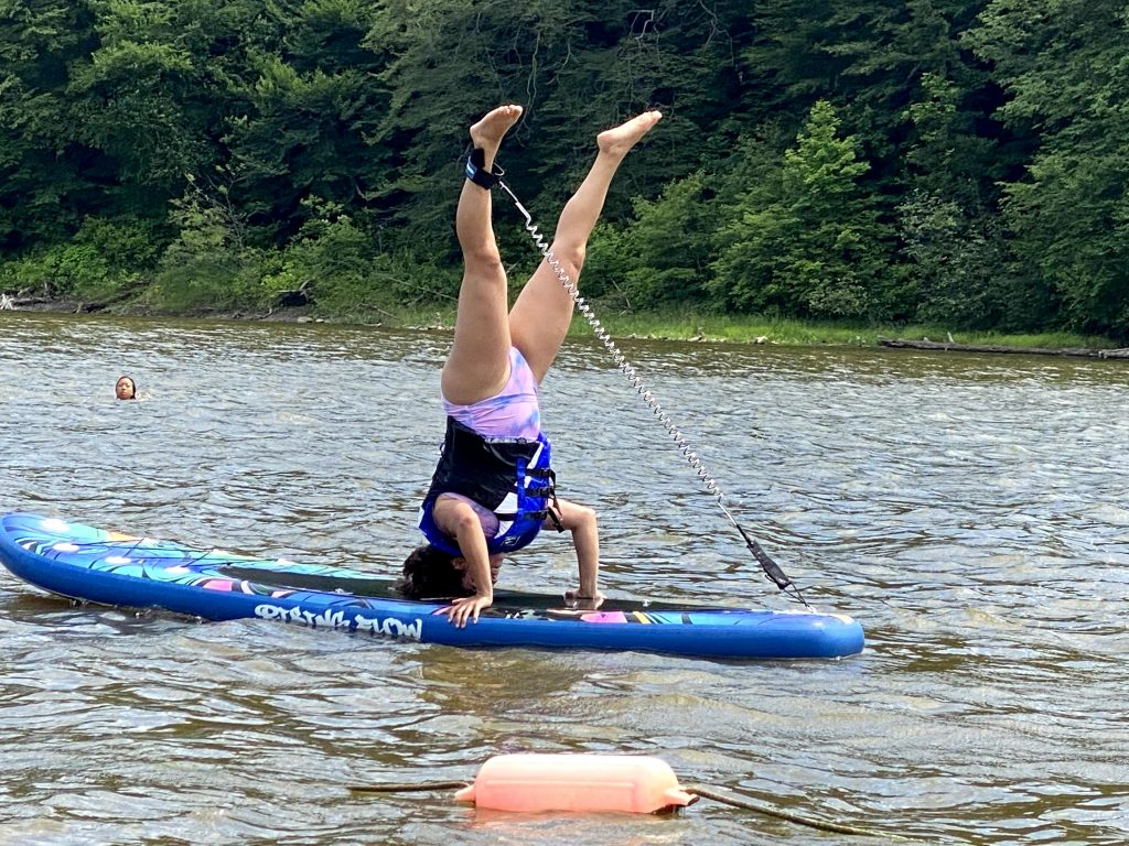Paddle Board Handstand