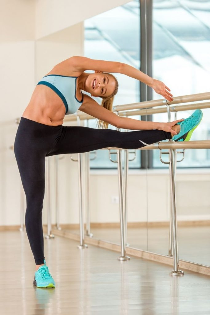 barre workout at home